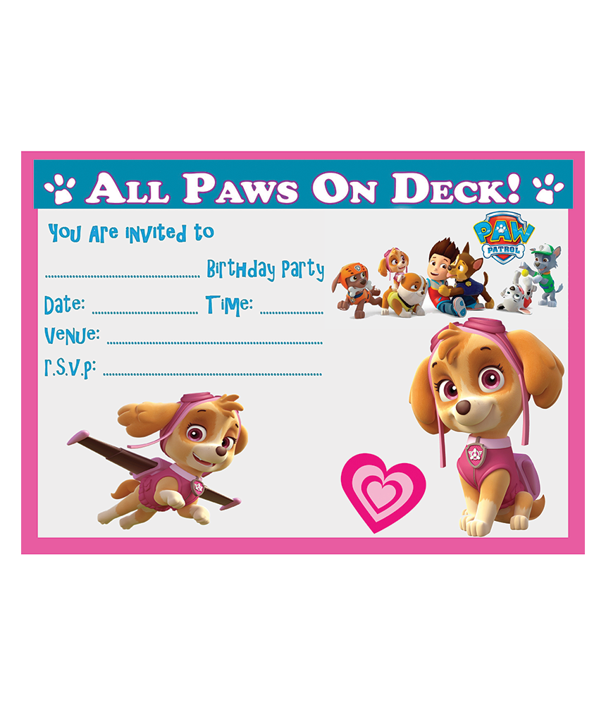 Birthday Party Invitations Available With Or Envelopes In Quantities Of 10 20 30 40 50